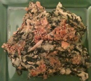 Chicken Spinach Au Gratin Recipe