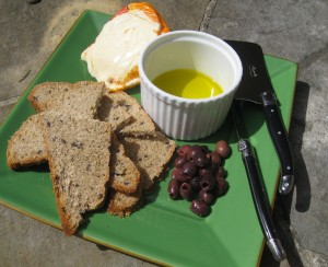 Homemade Whole Wheat Bread with Nicoise Olives and Rosemary Recipe