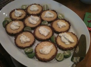 Key Lime Tartlette Recipe